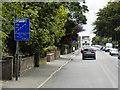 TG2411 : Wroxham Road, Start of Bus Lane at New Sprowston by David Dixon