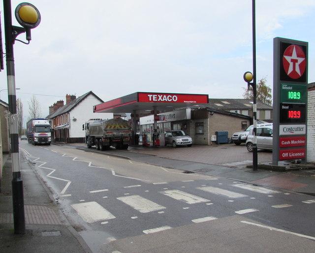 Zebra crossing, Carno Road, Caersws