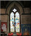 SH7882 : Baptistery Window by Gerald England