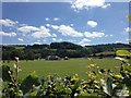 SO0428 : Cricket pavilion by Alan Hughes