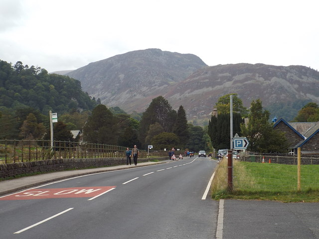 A592 road at Patterdale