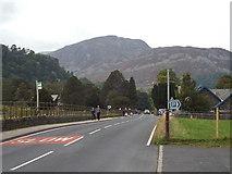 NY3915 : A592 road at Patterdale by Malc McDonald