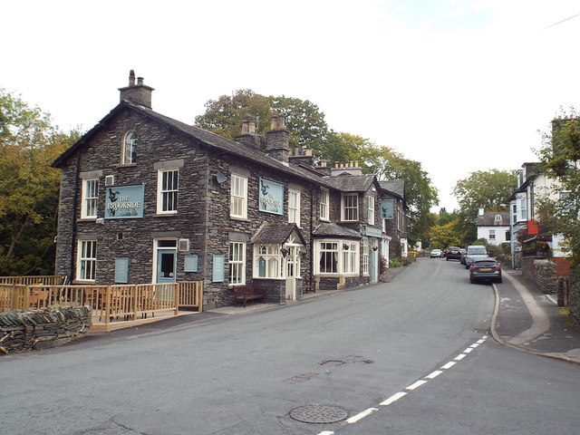 Lake Road and Brookside Inn, Windermere