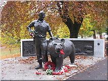 NT2573 : Wojtek in Princes Street Gardens by M J Richardson