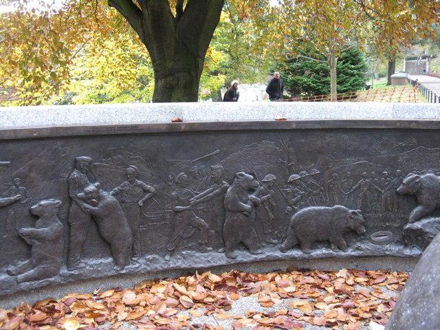Wojtek's relief - detail [2]
