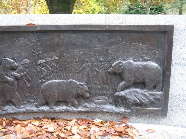 Wojtek's relief - detail [3]