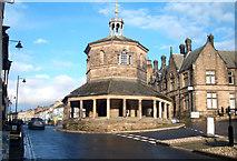 NZ0516 : The Market Place, Barnard Castle by JThomas
