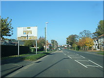TA0390 : A165 Burniston Road nears Cross Lane by Colin Pyle