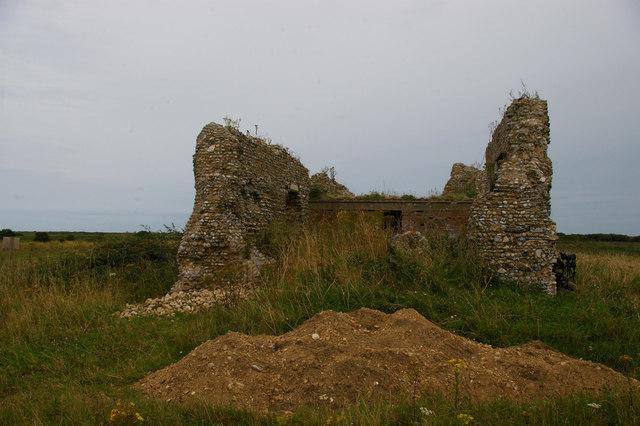 Eastbridge chapel from the west