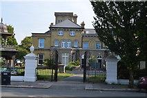 TQ2804 : Gates, Hove Museum by N Chadwick