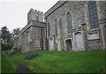 TQ6668 : St Mary Magdalene, Cobham - south elevation by David Kemp