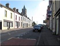 J3652 : The lower end of Church Street, Ballynahinch by Eric Jones