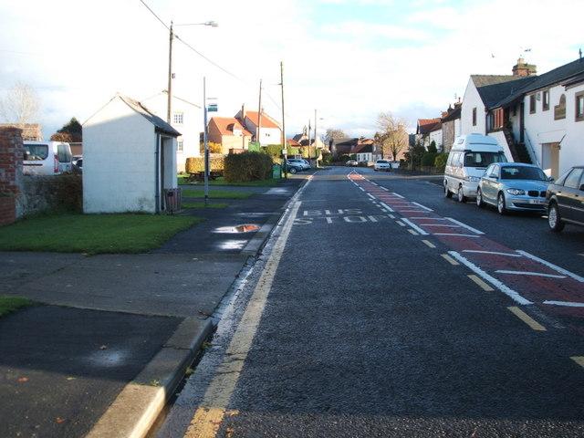 Bus stop and shelter, Ingleton