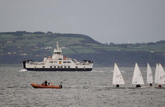 'Hallaig' off Bangor