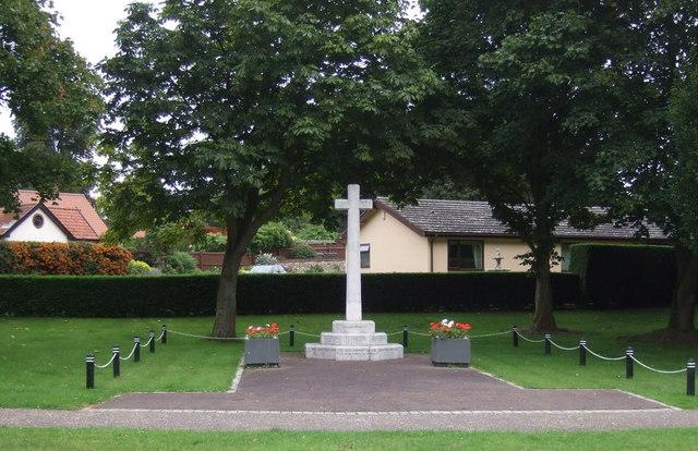 War Memorial, Scole