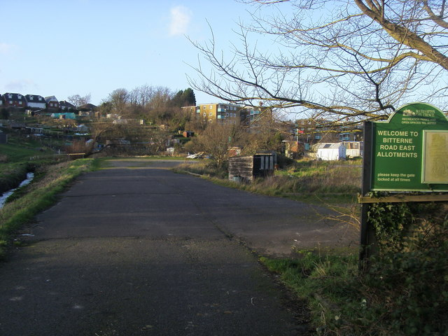Bitterne Road East allotments
