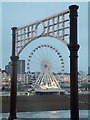 TQ3103 : Brighton: the Wheel from the pier by Chris Downer