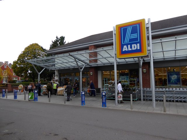 Aldi supermarket, Alphington Road, Exeter