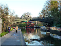 TQ2883 : Bridge 13, Regent's Canal by Robin Webster