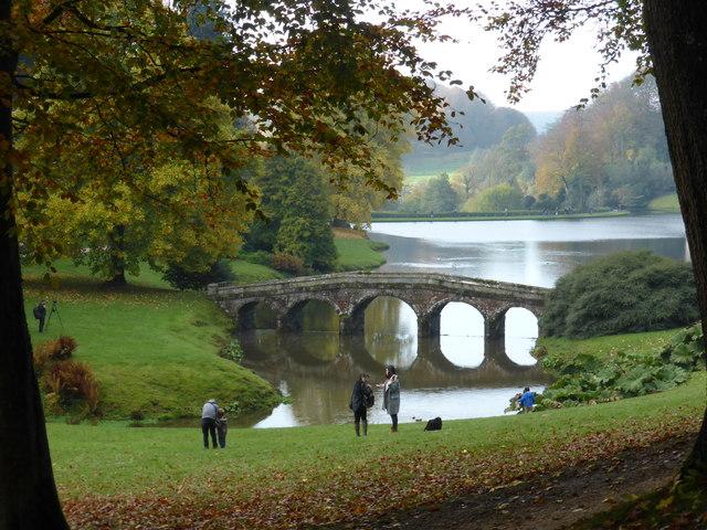 The Palladian bridge - Stourhead Gardens