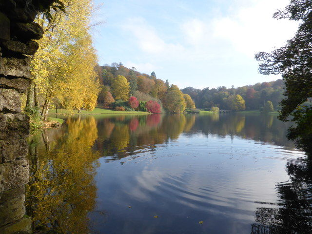 Stourhead Gardens from the Grotto