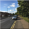 SP3880 : West on Dorchester Way, north end, Walsgrave, Coventry by Robin Stott