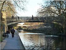 TQ2783 : Bridge 10, Regent's Canal by Robin Webster