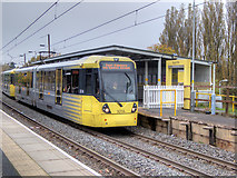 SD7807 : Bombardier Tram at Radcliffe by David Dixon