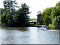 TG3217 : River Bure, Didler's Mill by David Dixon