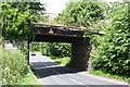 NY3858 : Bridge ETC/261 taking railway over Kingmoor Road by Roger Templeman
