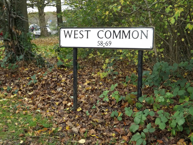 West Common sign