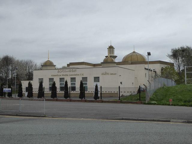 Darul Aman mosque on Greenheys Lane, Hulme