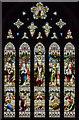 SK9450 : East window, St Nicholas' church, Fulbeck by Julian P Guffogg
