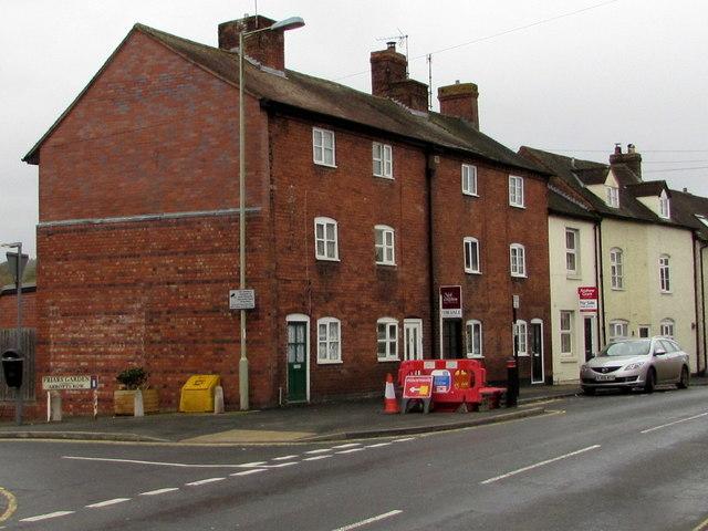 Three-storey houses, Lower Galdeford, Ludlow