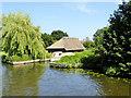 TG3216 : Boathouse near Decoy Cottages by David Dixon
