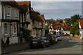 TL9149 : Lavenham: looking down Church Street towards the centre by Christopher Hilton