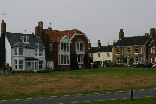 Houses on Constitution Hill, Southwold