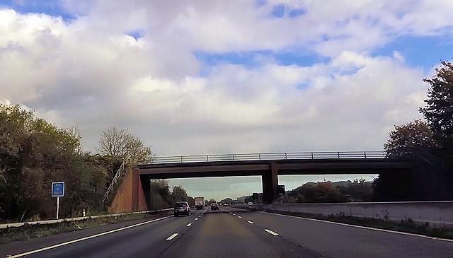 Over bridge near Westcott