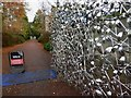 NT2475 : Gates into the Eastern end of the Royal Botanic Gardens Edinburgh by Steve  Fareham
