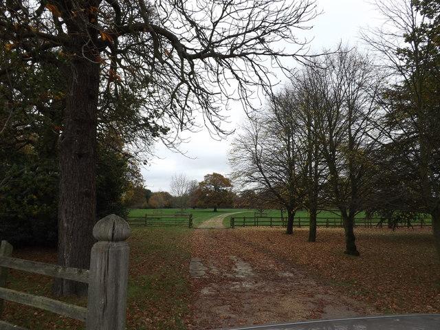 Entrance to Hill House & Farm