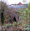 SO5174 : Southeast portal of Ludlow railway tunnel by Jaggery