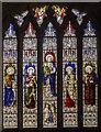 SK9551 : Stained glass window, St Swithun's church, Leadenham by Julian P Guffogg