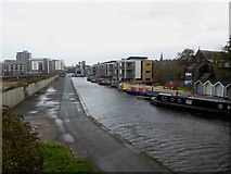 NT2472 : Union Canal Edinburgh by Steve  Fareham