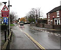 SJ6911 : Reduce speed now, New Street,  Oakengates, Telford by Jaggery