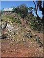 SX9065 : Ridge path, Chapel Hill Pleasure Grounds by Derek Harper