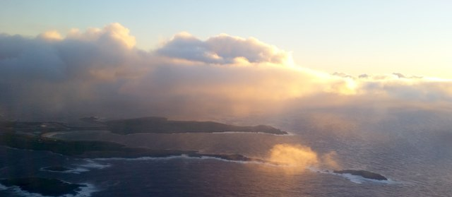 Scatness and Sumburgh from the air