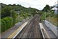 TQ3408 : East Coastway line, Falmer Station by N Chadwick