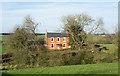 NZ2423 : Brick-built house at Redworth Grange by Trevor Littlewood