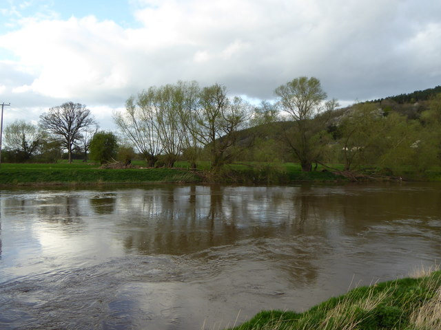 The River Wye near Wood View