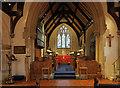 TQ0891 : Holy Trinity, Northwood - Chancel by John Salmon
